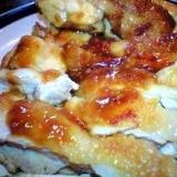 鶏の味噌照り焼き(^^♪