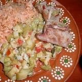 牛肉とズッキーニ煮込み・ア・ラ・メキシコ
