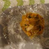 さば味噌かぼちゃ団子