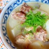 豚バラ軟骨と大根のスープ