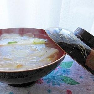 柚子しぼり雑煮