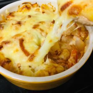 子ども大好き‼ジャガイモベーコンのチーズ焼き