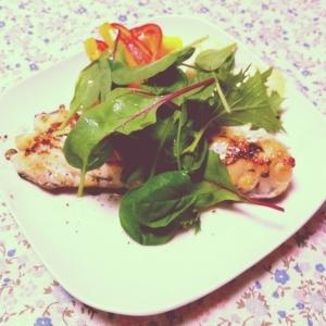 白身魚でオシャレ料理!「白身魚のポワレ」献立