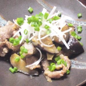 ナスがじゅわ~っとおいしい★ナスと豚の生姜焼き