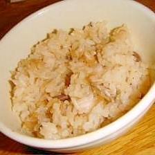 【ご飯】缶詰で簡単!さんまの炊き込みご飯
