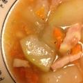 絶品!冬瓜とベーコンの中華スープ