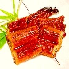 輸入鰻を茹でます☆鰻の蒲焼き