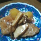 ご飯が進む★豚ヒレ肉とキノコのオイスター炒め