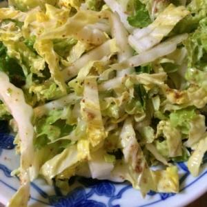 ザクザク感がたまらない!白菜のぱぱっとサラダ