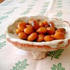 里山より❀しょうちゅう豆