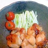 鶏のオレンジマーマレード焼き