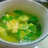 しらき(こしあぶら)のコンソメスープ