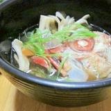 メヌキのアラは特別☆ 昆布の一番だしで「かぶと汁」