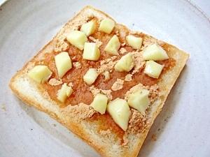 *チーズきなこトースト*