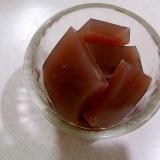 【糖質制限】小豆の煮汁で健康ローカロリーようかん