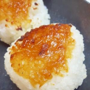 手作り酢味噌で!(^_^)簡単香ばしい焼おにぎり♪