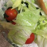 簡単弁当用サラダ