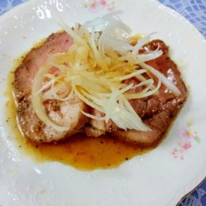 煮豚のハニーペッパー風味