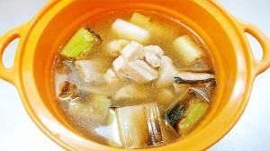 簡単/ネギとマグロのねぎま鍋◆風邪予防にも