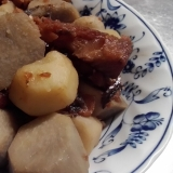 簡単に作れる芋棒