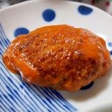 ケチャップ煮こみハンバーグ