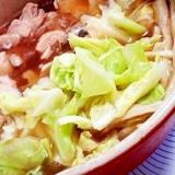 骨付き鶏ぶつ切りでキャベツをいっぱい食べる鍋★