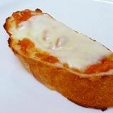 塩糀入り♪ 柿ジャムチーズトースト
