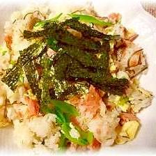 ♪♪楽チン簡単!鮭と卵のヘルシー混ぜ寿司♪♪