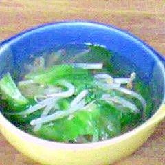 うまみたっぷりのゆで汁を使ったECO野菜すーぷ☆