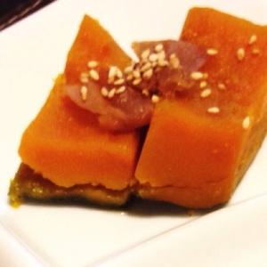 時短!かぼちゃの梅煮♡