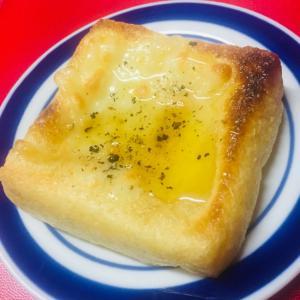 油揚げの蜂蜜チーズ焼き