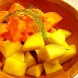 パパイヤとマンゴーのサラダ
