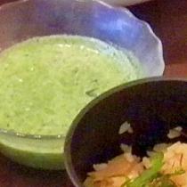 糖尿病レシピ血糖値を下げるほうれん草冷製スープ