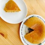 人参とカボチャのスフレケーキ