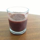 水菜とブルーベリーのスムージー【Purple D】