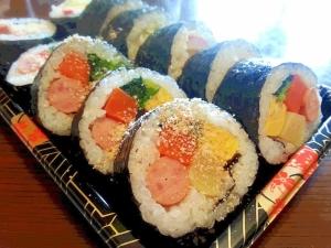韓国海苔巻き♪ * サラダキンパ  *