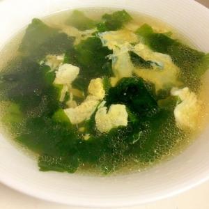 エスニック卵スープ