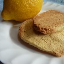 レモン粉豆腐クッキー