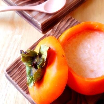 材料2つ!旬の「柿」+「牛乳」でできる不思議なプリンって知ってる?