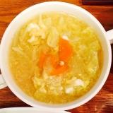 色々野菜と卵のスープ