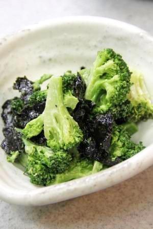 丸々1つ食べるなら『海苔とブロッコリーのサラダ』