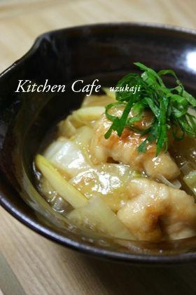 白菜と鶏肉のトロっと煮
