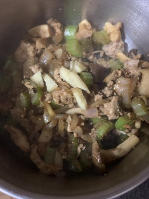 あん肝の野菜炒め煮