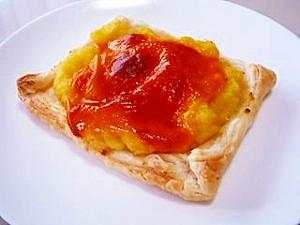超簡単☆マッシュポテトとチェダーチーズのパイ