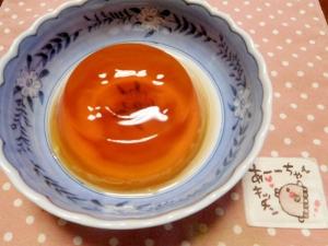 お茶ゼリー