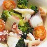 ヘルシー♪タコとブロッコリーのサラダ