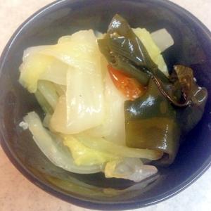 白菜の簡単くたくた煮