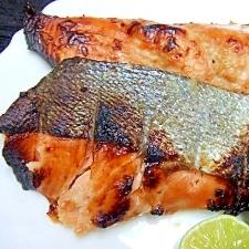焼き鮭*醤油・塩麹漬け