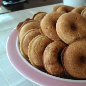 おからパウダー使用の焼きドーナツ♪