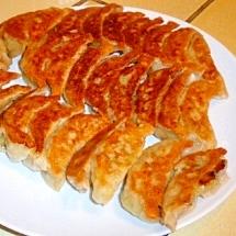 マクロビ 畑の肉を使った ベジタブル餃子